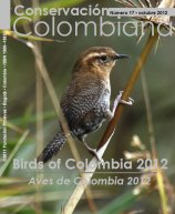 Nº 17 Birds of Colombia 2012