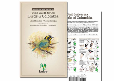 Field guide to the birds of colombia | indiegogo.