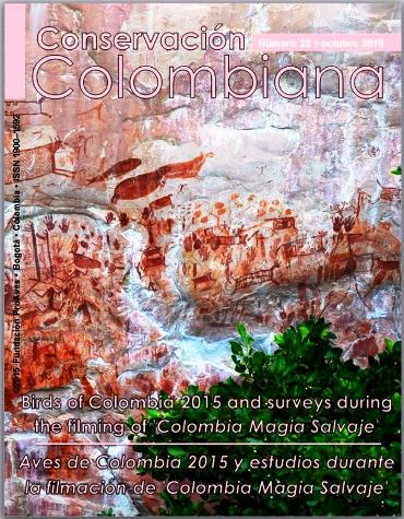 Birds of Colombia 2015