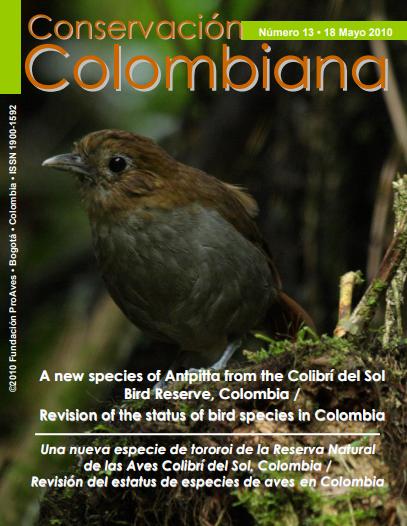 Revista Conservación Colombiana 13