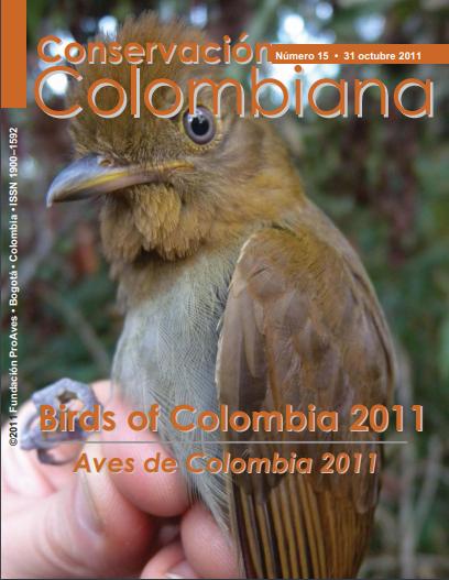 Revista Conservación Colombiana 15