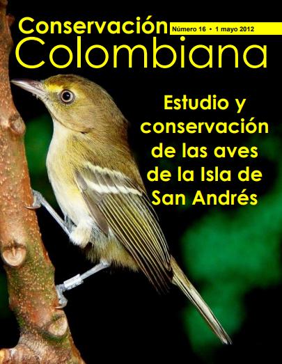 Revista Conservación Colombiana 16