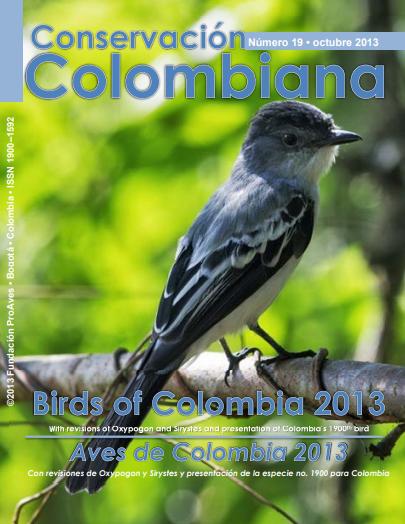 Revista Conservación Colombiana 19