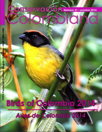 Revista Conservación Colombiana 21