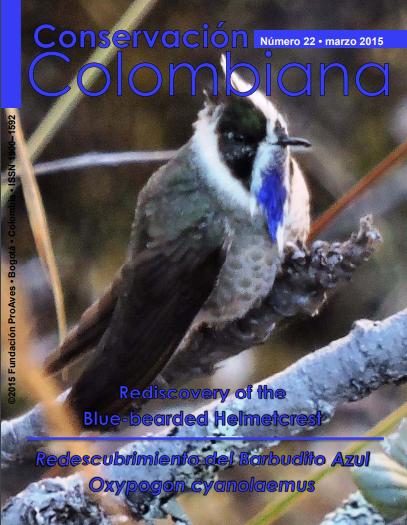 Revista Conservación Colombiana 22