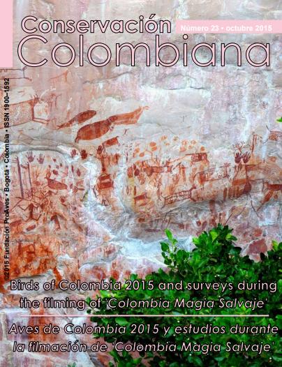 Revista Conservación Colombiana 23