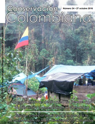 Revista Conservación Colombiana 24