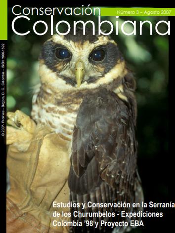 Revista Conservación Colombiana 3