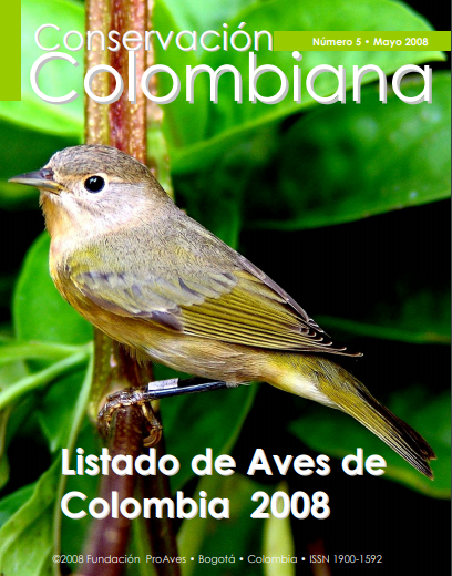 Revista Conservación Colombiana 5