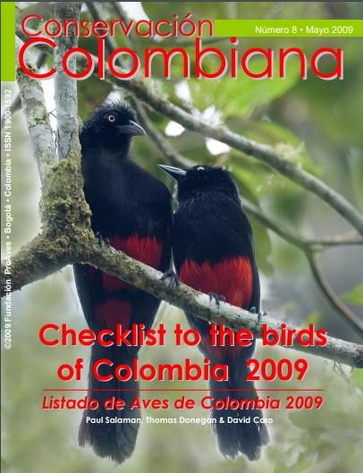Revista Conservación Colombiana 8