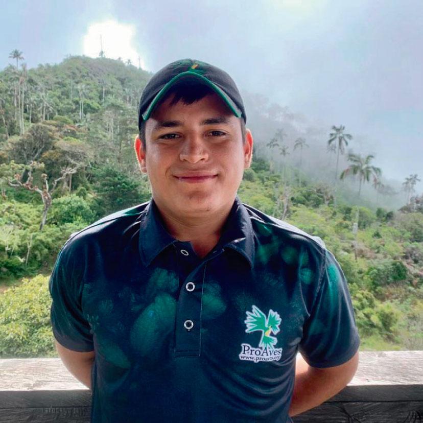 Rubén Darío Sanguino, encontró en la Reserva su segundo hogar