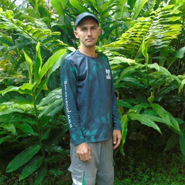 Arles Zapata, es un agricultor con conciencia de la conservación