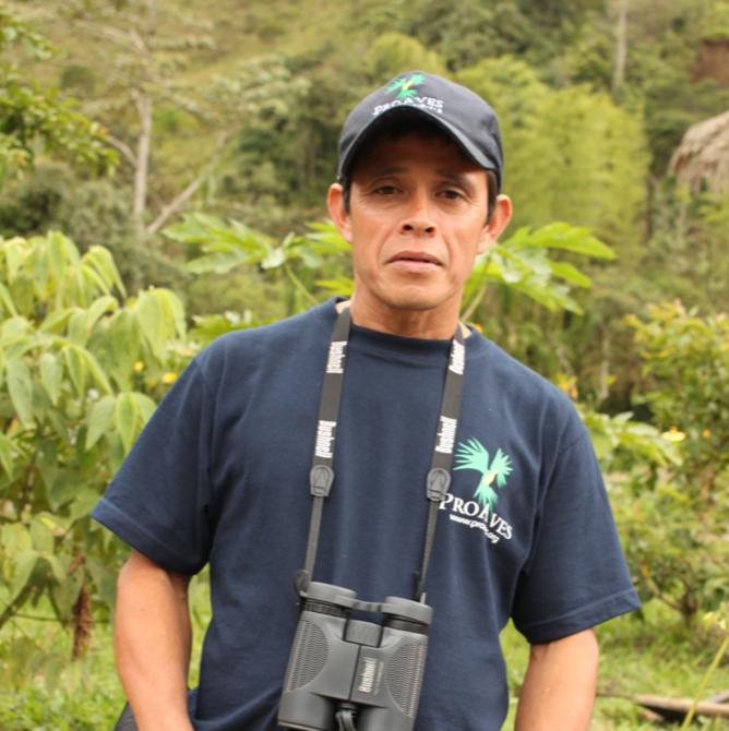 Carlos Ernesto López, protector de la Reserva