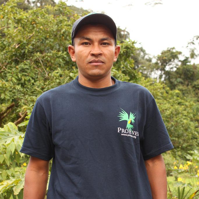José Aicardo Echavarria, responsabilidad y compromiso por las aves