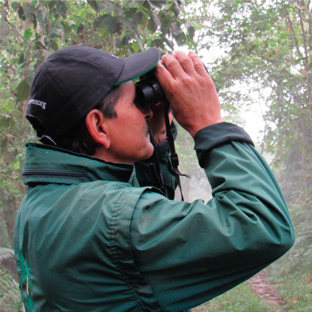Pantaleón Guayara: la curiosidad lo llevó a ser un aliado del medio ambiente