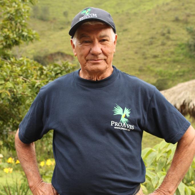José del Carmen Barbosa: su gran motor, el amor por la naturaleza