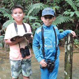 Niños y jóvenes, el futuro de la conservación