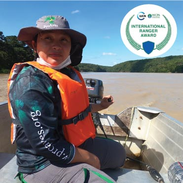 Ninfa, ganadora del Premio Internacional de Guardaparques