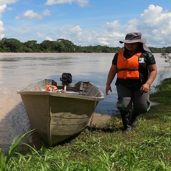 Ninfa, protegiendo el corazón de la Amazonía colombiana